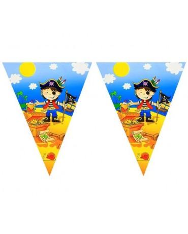 Banner vlajok - Malí piráti 2