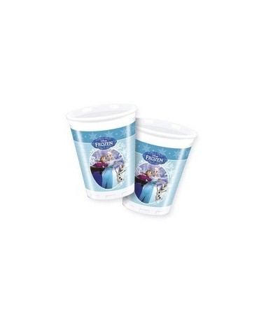 Poháre Frozen - Ice skating 200ml - 8 ks