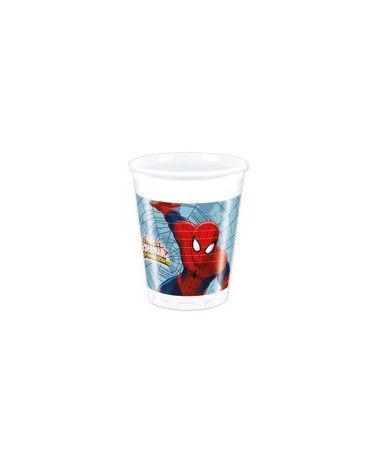 Poháre Ult Spiderman- Web War.  200ml 8 ks