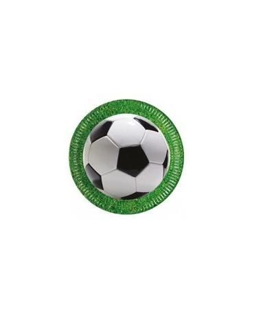 Tanieriky Futbal Party 23 cm - 8 ks