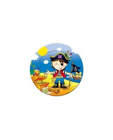 Tanieriky Malí piráti 2  18 cm - 6 ks