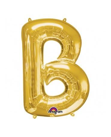 Fól. balón - zlaté B 22x33cm