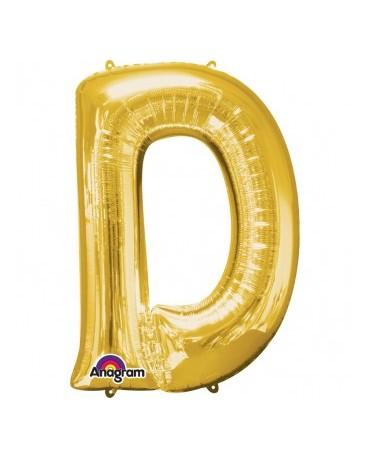 Fól. balón - zlaté D 22x33cm