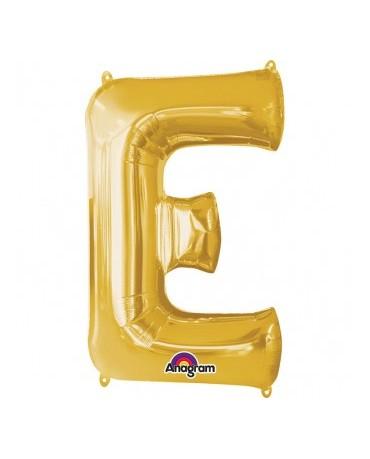 Fól. balón - zlaté E 20x33cm
