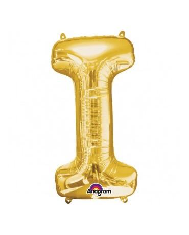 Fól. balón - zlaté I 17x33cm