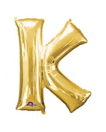 Fól. balón - zlaté K 25x33cm
