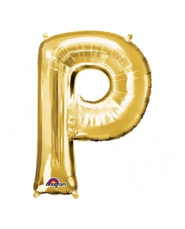 Fól. balón - zlaté P 22x33cm