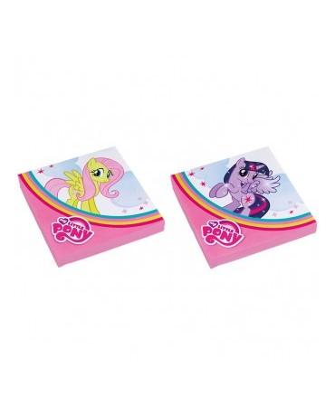 Servítky My Little Pony Rainbow 33cm 20ks