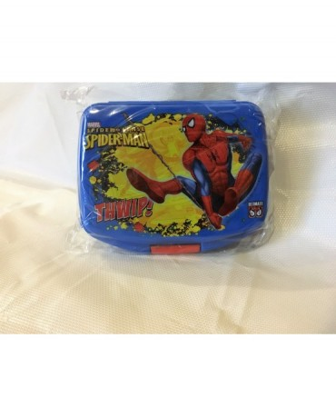 Plast. box na jedlo Spiderman 16,5x13 cm