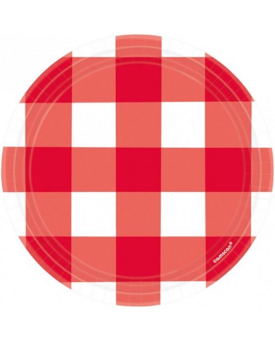 Tanieriky Piknik 17,7cm 8ks