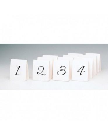 Tabuľky - čísla stolov 39.9 x 11.7 cm