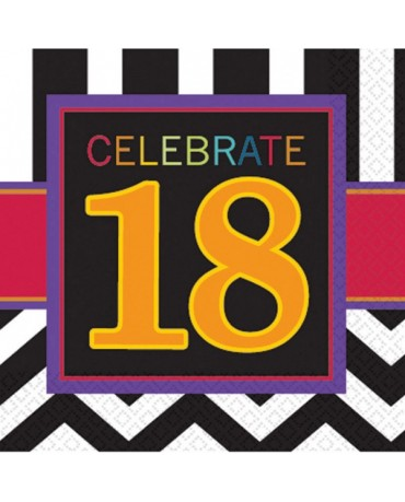 Servítky Celebrate 18    33cm 16ks