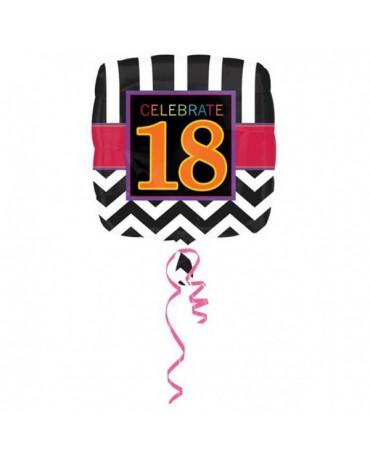 Fól. balón Celebrate 18