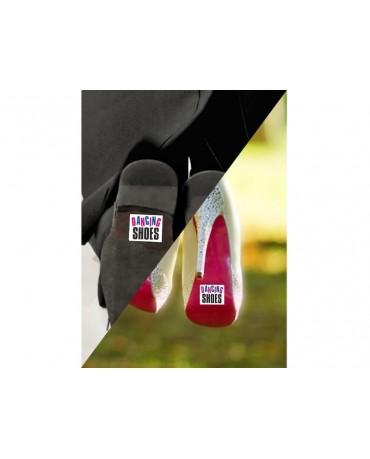 Nálepky na topánky Dancing Shoes 2ks