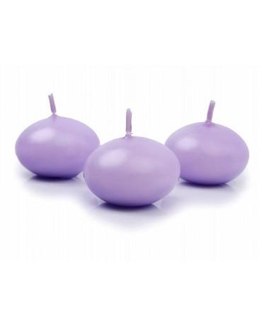 Sviečky - pláv. -fialové 4cm 50ks