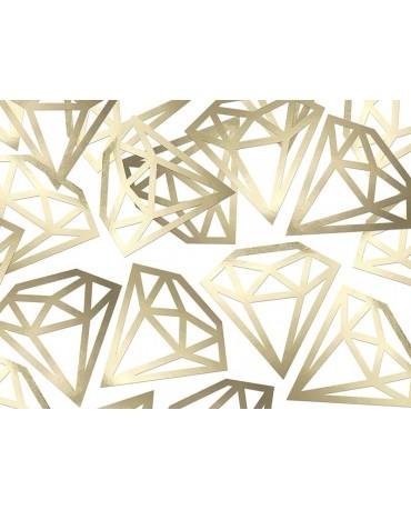 Konfety - zlaté diamanty 12ks