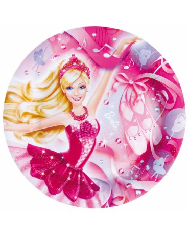 Tanieriky Barbie Pink Shoes 23cm 8ks