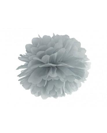 Pompón -šedý 35cm