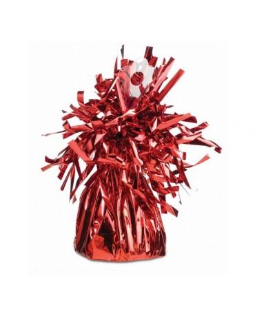 Závažie na balóny -taška-červená