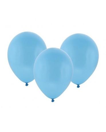 """Latexové balóny pastelové -modré 12"""" 100ks"""