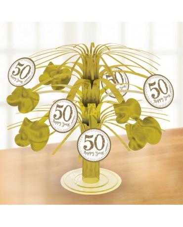 Hlavná dekorácia na stôl - 50 Happy Years