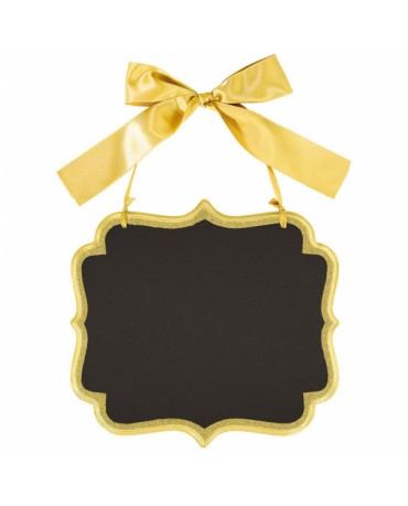 Zlatá tabuľka 25,4 x 23,5 cm