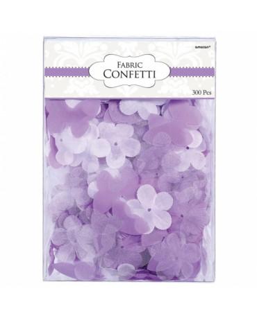 Konfety - kvety - fialové 5cm 300ks