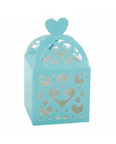 Krabička - modrá 6.3cm 50ks