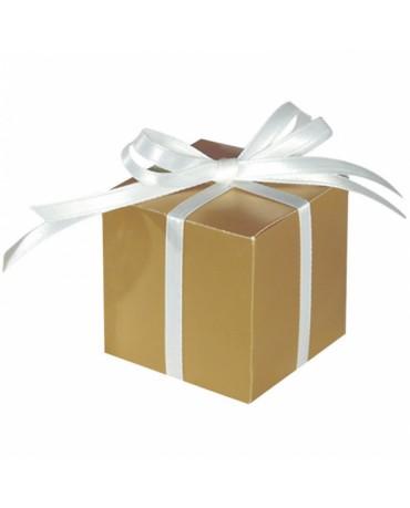 Škatuľka - zlatá 5,7cm 100ks