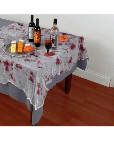 Zakrvavená sieť na stôl 150x210cm