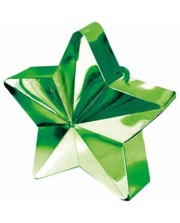 Závažie na balóny -hviezda-zelená
