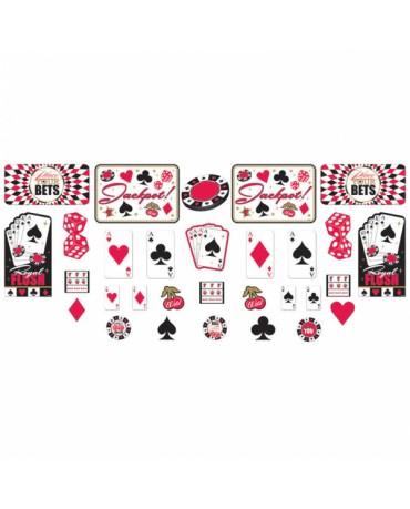 Dekorácia- kartové znaky