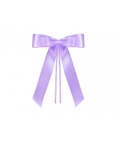Mašle na kľučky - fialové 4ks