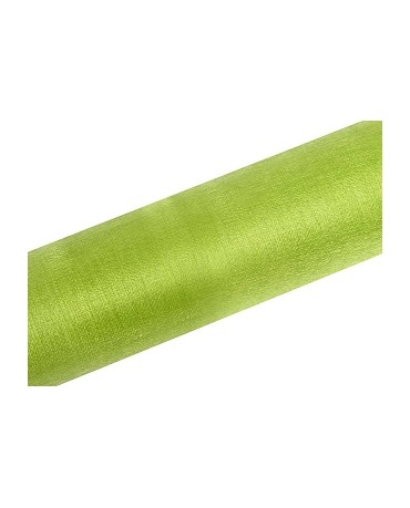 Organza snehovo svetlo zelená
