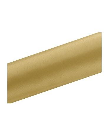 Satén zlatý 0,16x9m