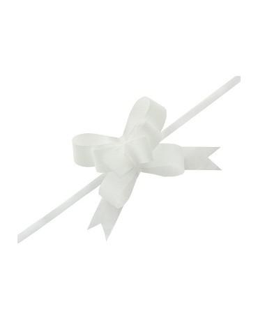 Mašľa biela 3cm