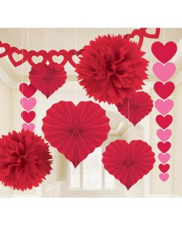 Dekoratívna súprava valentín