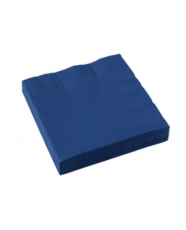Servítky modré 33 x 33cm 20ks
