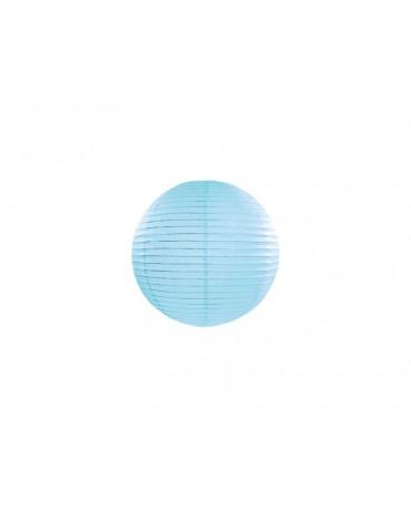 Dekorácia- lampión- modrá lopta 20cm