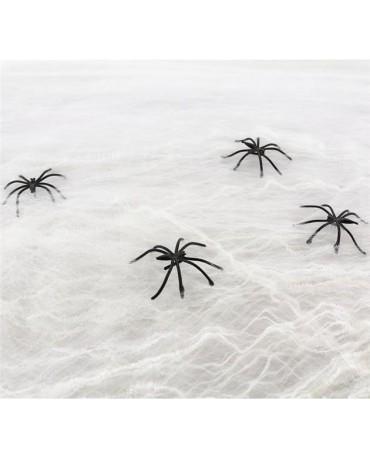 Dekorácia - biela pavučina