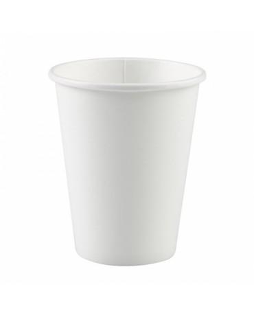 Papierové poháriky biele 266ml 8ks