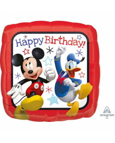 Fóliový balón HBD Mickey 43cm