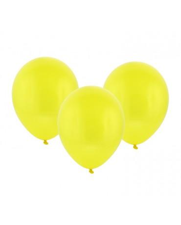 Latexové balóny pastelové - žlté 12'' 100ks