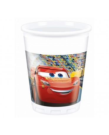 Plastové poháriky McQueen 200ml 3ks