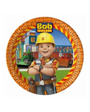 Tanieriky Bob stavebník 23cm 8ks