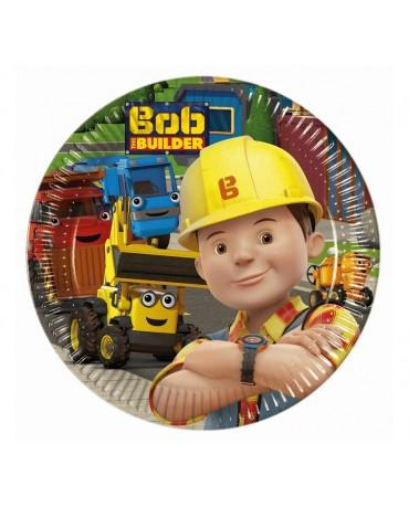 Tanieriky Bob stavebník 20cm 8ks