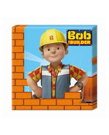 Servítky Bob stavebník 33x33cm 20ks