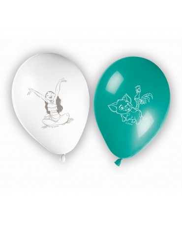 Latexové balóniky Vaiana 11'' 8ks
