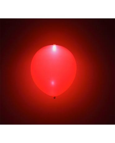 Svietiace balóniky červené 4ks
