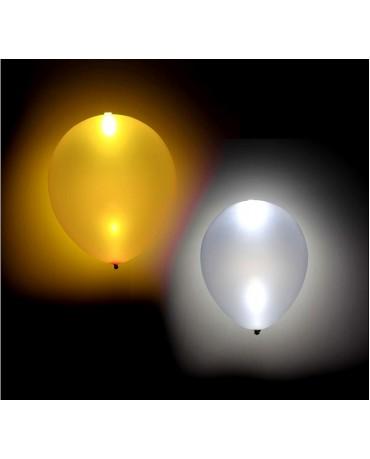 Svietiace balóniky 2 zlaté 2 strieborné